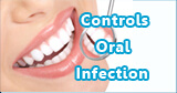 Freshclor controls oral infection