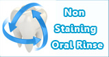 No staining oral rinse with Freshclor